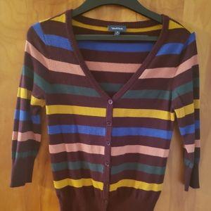 ModCloth Striped Cardigan